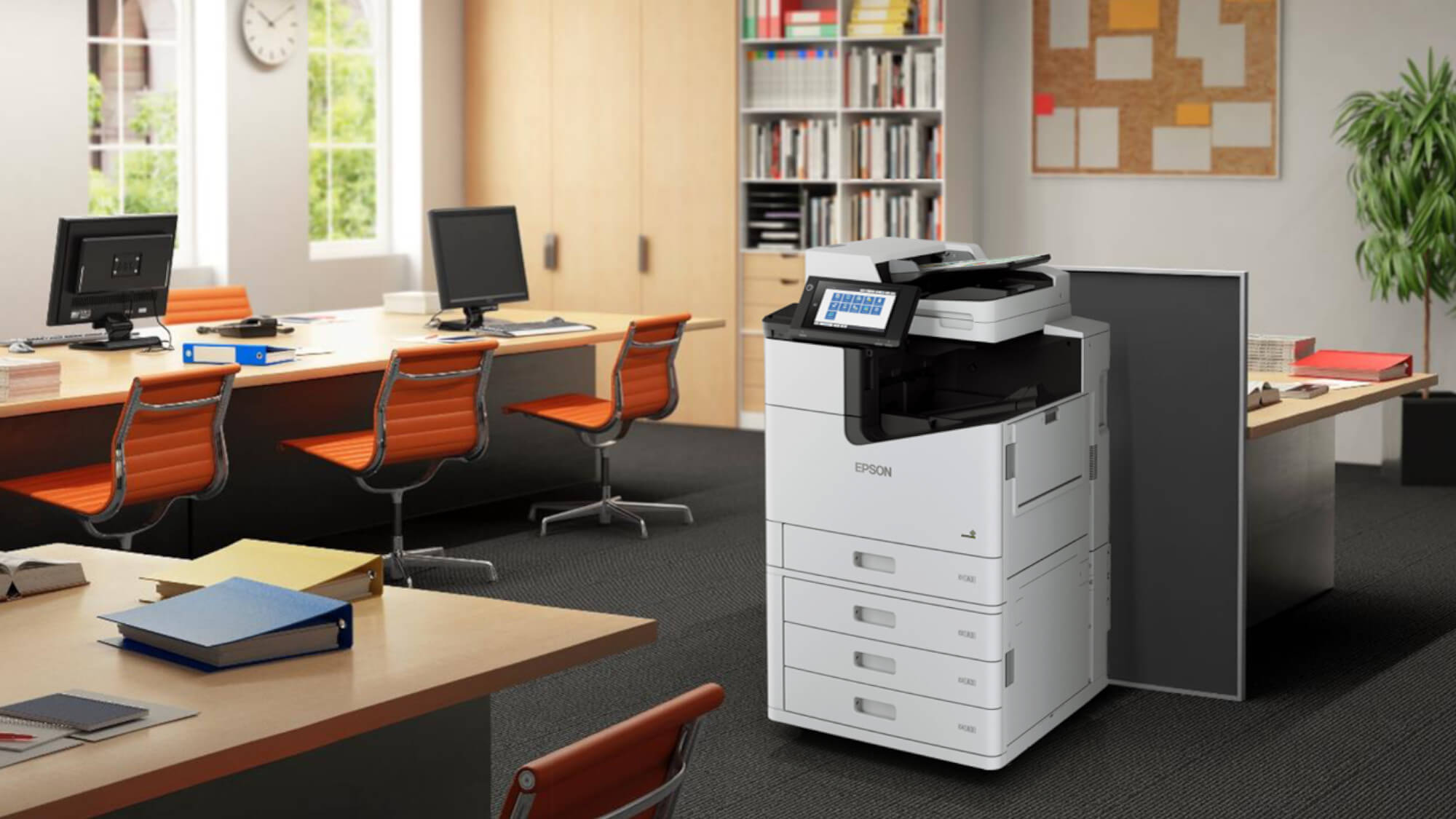 Epson Enterprise A3 Printer insitu (small Office)